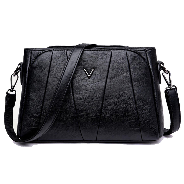 45b8a2f71c2 Amazon.com: Sanxiner Women's Crossbody Bag Classic Purse Clutches Bags  Shoulder Handbags (A-Black): Shoes