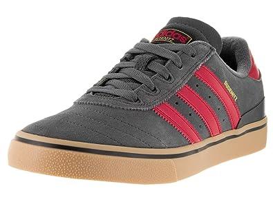 21d9f3b2e30373 adidas Men s Busenitz Vulc Adv Dgsogr Scarle Goldmt Skate Shoe 8 Men US