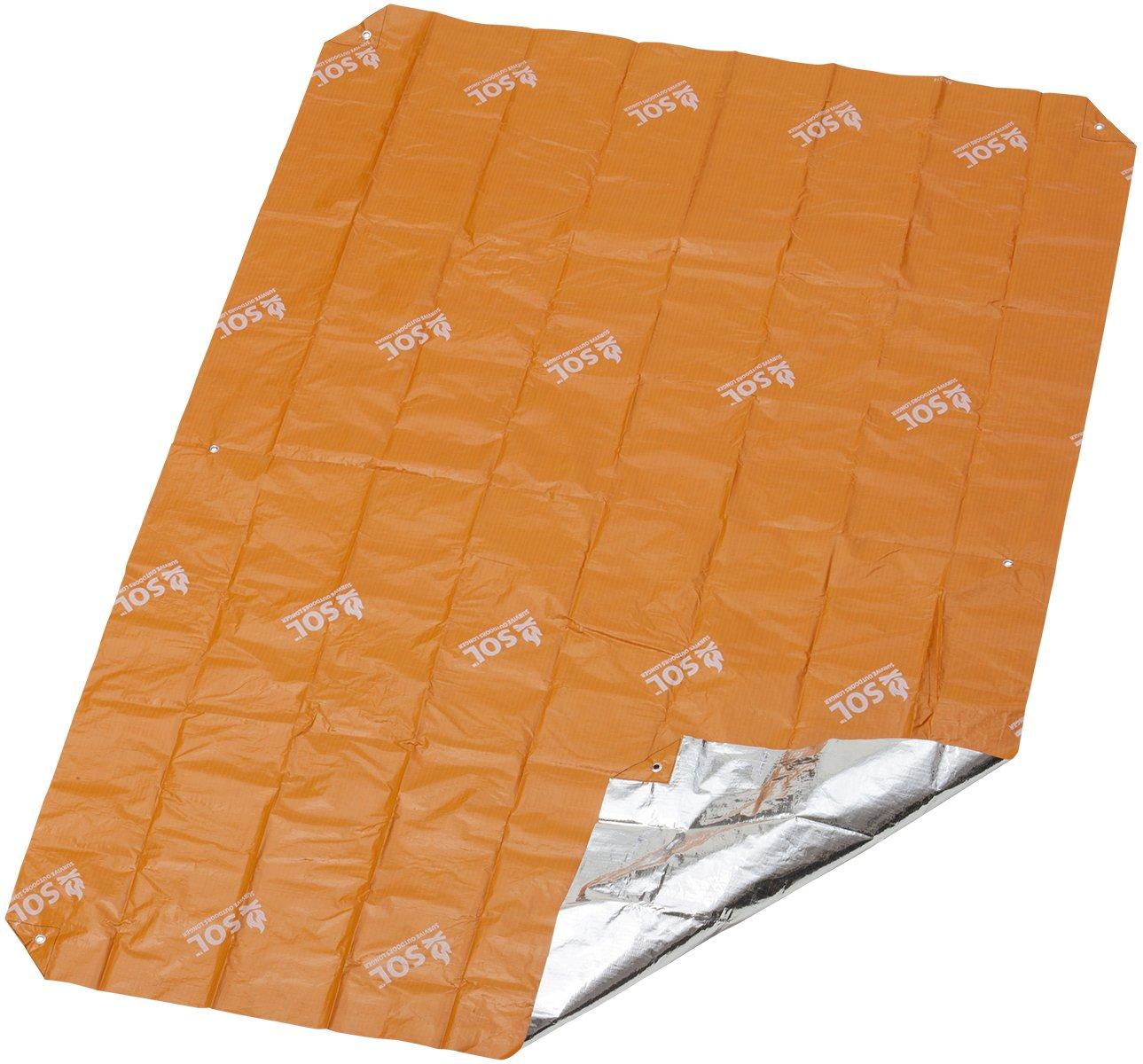 S.O.L. Survive Outdoors Longer 95 Percent Heat Reflective Sport Utility Blanket