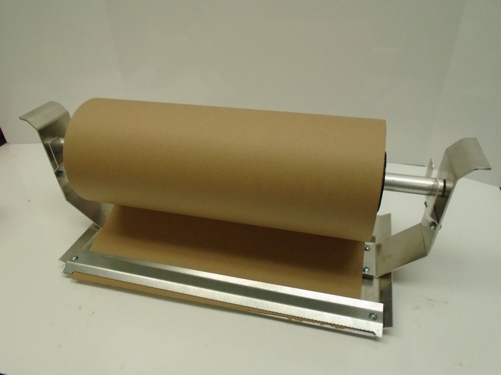 Paper Cutter Roll Dispenser Econoline 15 inches table mount Kraft paper Duralov