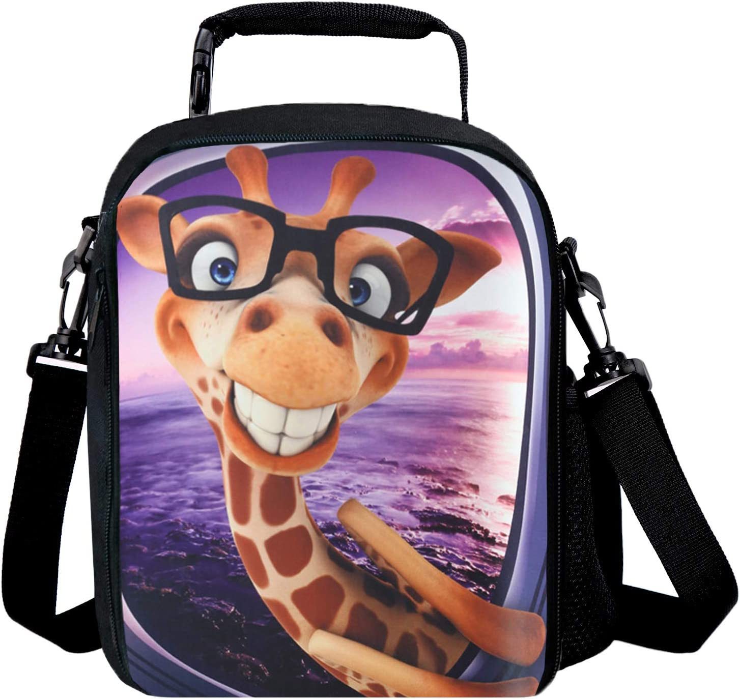 Children Insulated Lunch Pack Box Bag Thermal Kids Boy Girls School Food Picnic