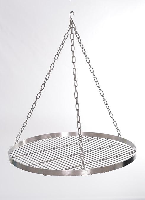 Barbecue 40 cm avec maintien de suspension, en acier