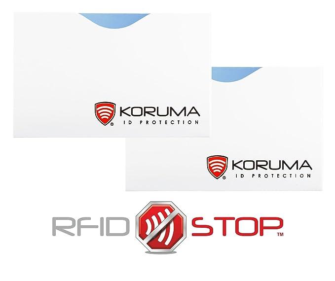 NUEVA KORUMA - RFID bloqueo de las tarjetas de pago Protector ...