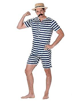 Karnival 82100 - Traje de baño para hombre (talla M), color negro