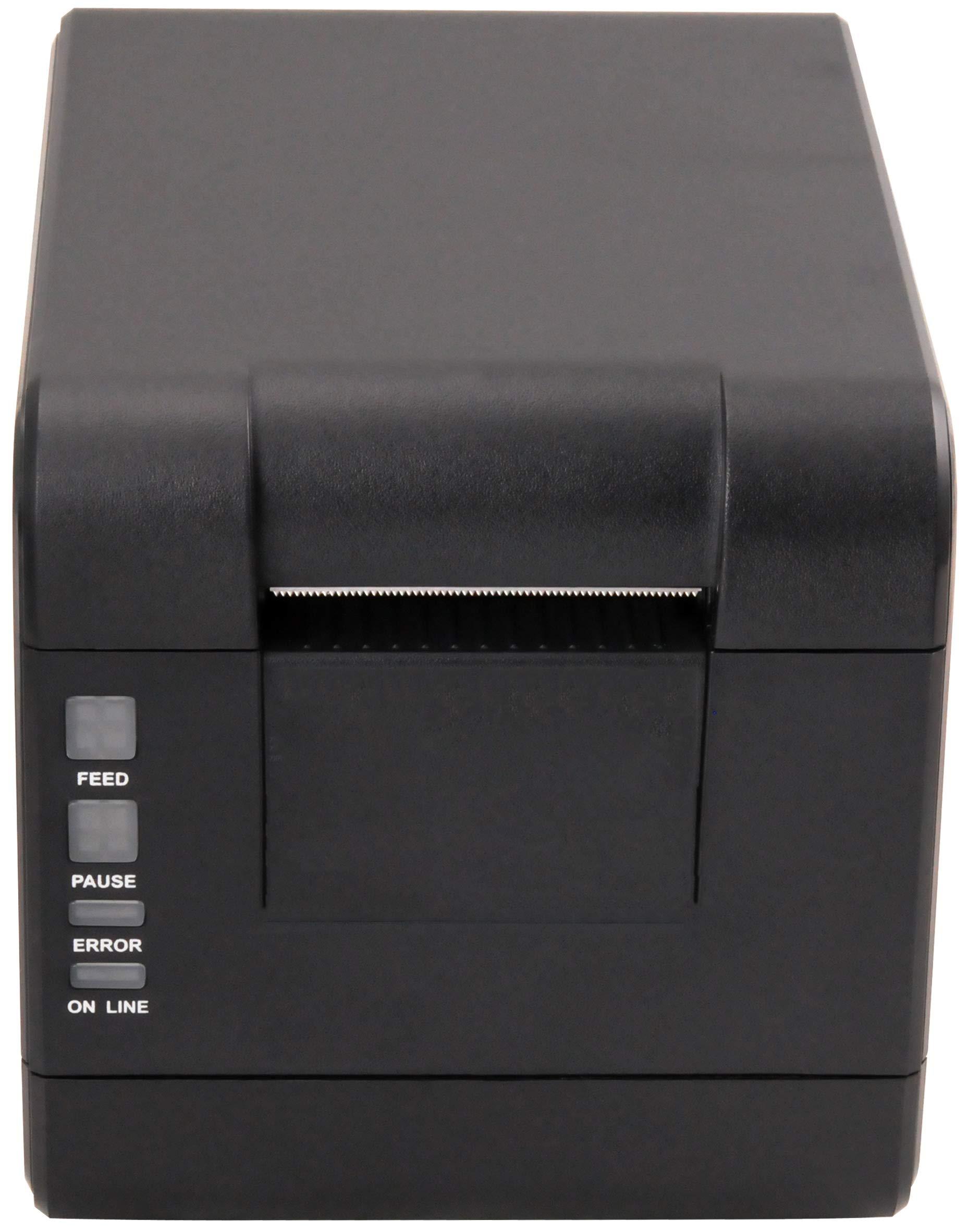 Xprinter XP-233B 58mm Thermal Label Printer,Thermal Barcode Printer, USB 2.0 Interface, 101mm/s Print Speed, Black