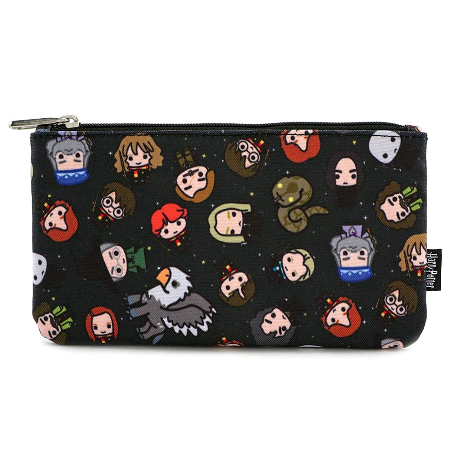 Loungefly Harry Potter Character All Over Print Zipper Pouch Bag