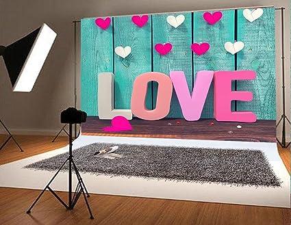 Amazon Com 7x5 Ft 220x150cm Valentine S Day Photo Background