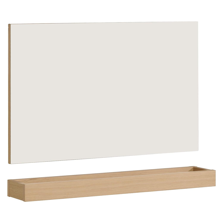 Keo Oslo Miroir, Chêne, Roasted Oak, 80 x 14 x 56 cm ARTEMOB INTERNATIONAL 783582