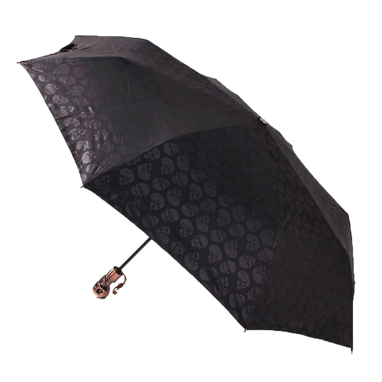 ColorDrip- Automatic Skull Umbrella- Auto Open/Close- 55Mph Windproof- Compact And Portable- Fast Drying- For Rain | Intense Sunlight | Sleet- 1 Pcs BHBAZUKAZA3850