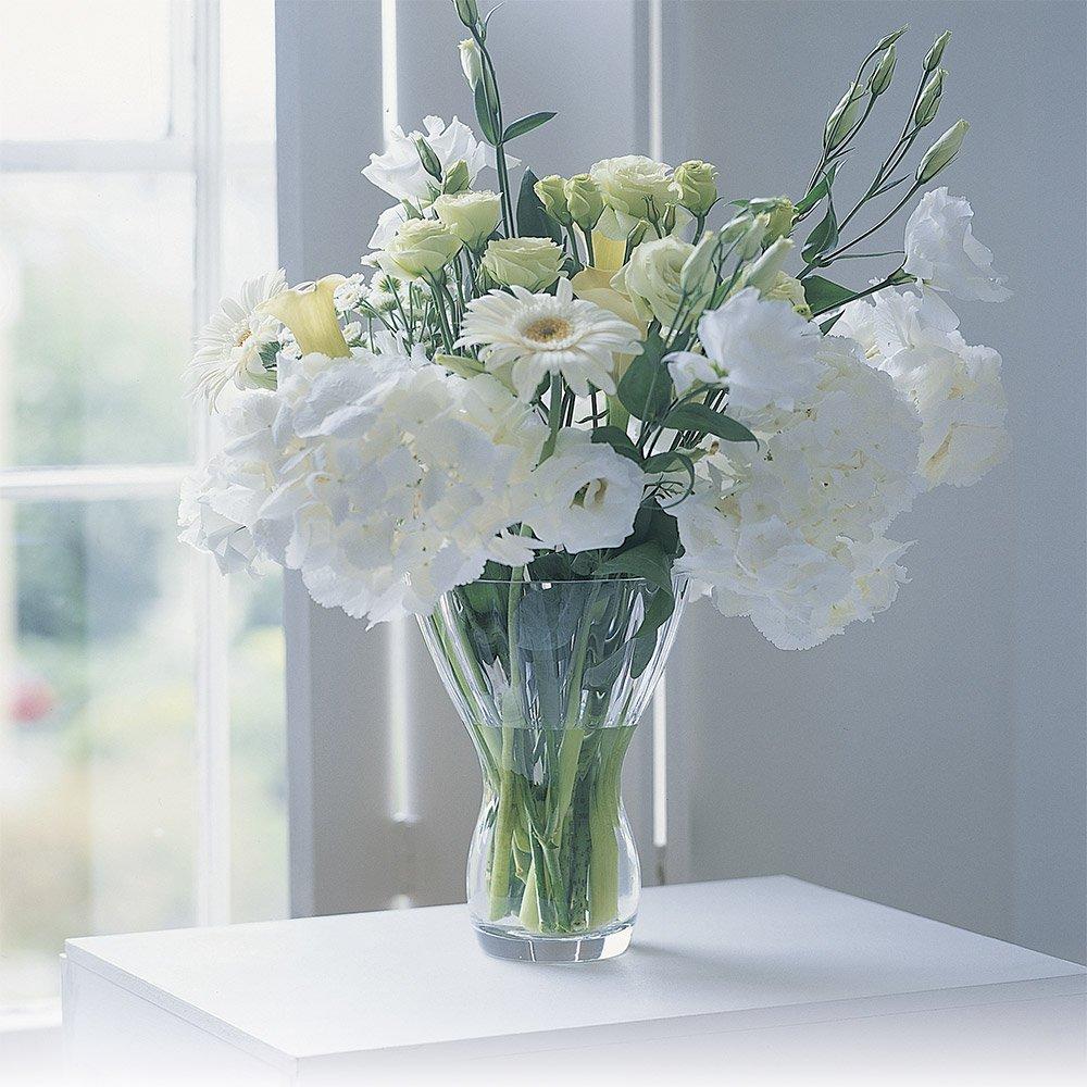 Transparent Dartington Crystal Florabundance Bouquet Array Vase