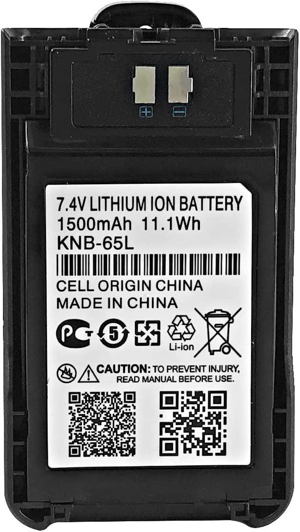 KNE-65L Battery Replacement for Kenwood TH-K20E TH-K20A TH-K40E TK ...