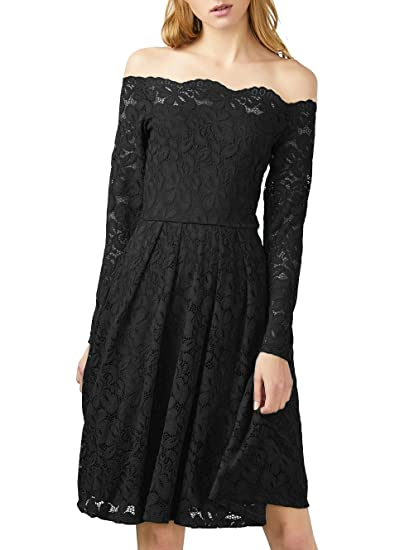 JUSOE Women s Vintage Lace Dress Sexy Long Sleeves Cocktail Formal Dresses  S-XXL at Amazon Women s Clothing store  df4e002e4