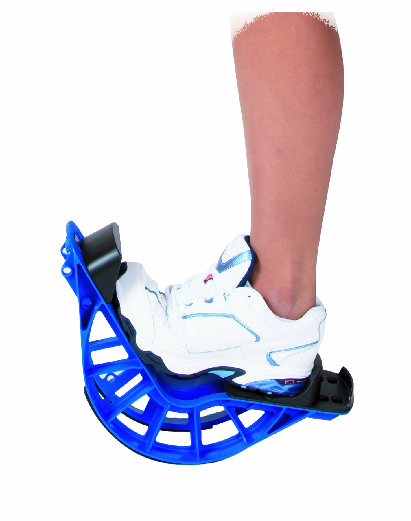 ProStretch Plus, Blue, Adjustable Calf Stretcher & Foot Rocker for Plantar Fasciitis, Achilles Tendonitis, Flexibility (Slip Resistant Bottom) by ProStretch (Image #3)