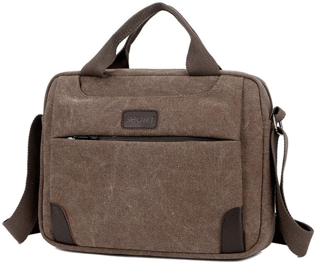 Yearkala Mens Canvas Crossbody Hiking Military Messenger Sling Shoulder Bag Satchel Bags