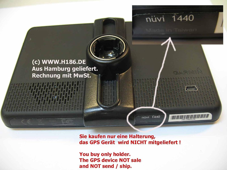 H186 #20 Kompatibel mit Garmin N/üvi 1410 1440 1450 1490 Halterung Komplett Halter Frontscheibe Winterscheibe Holder Mount