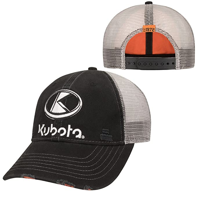 Amazon.com  Kubota Distressed Cap  Clothing f101d95e739