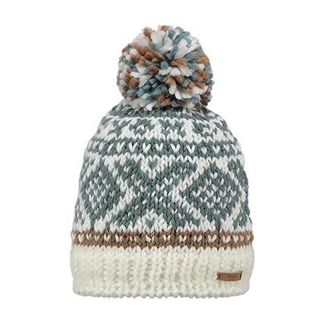 caac0d29fa4 Barts Log Cabin Hat Dark Grey  Amazon.co.uk  Clothing