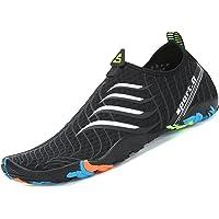 Zapatos de Agua para Buceo Snorkel Surf Piscina Playa Vela Mar Río Aqua Cycling Deportes Acuáticos Calzado de Natación…