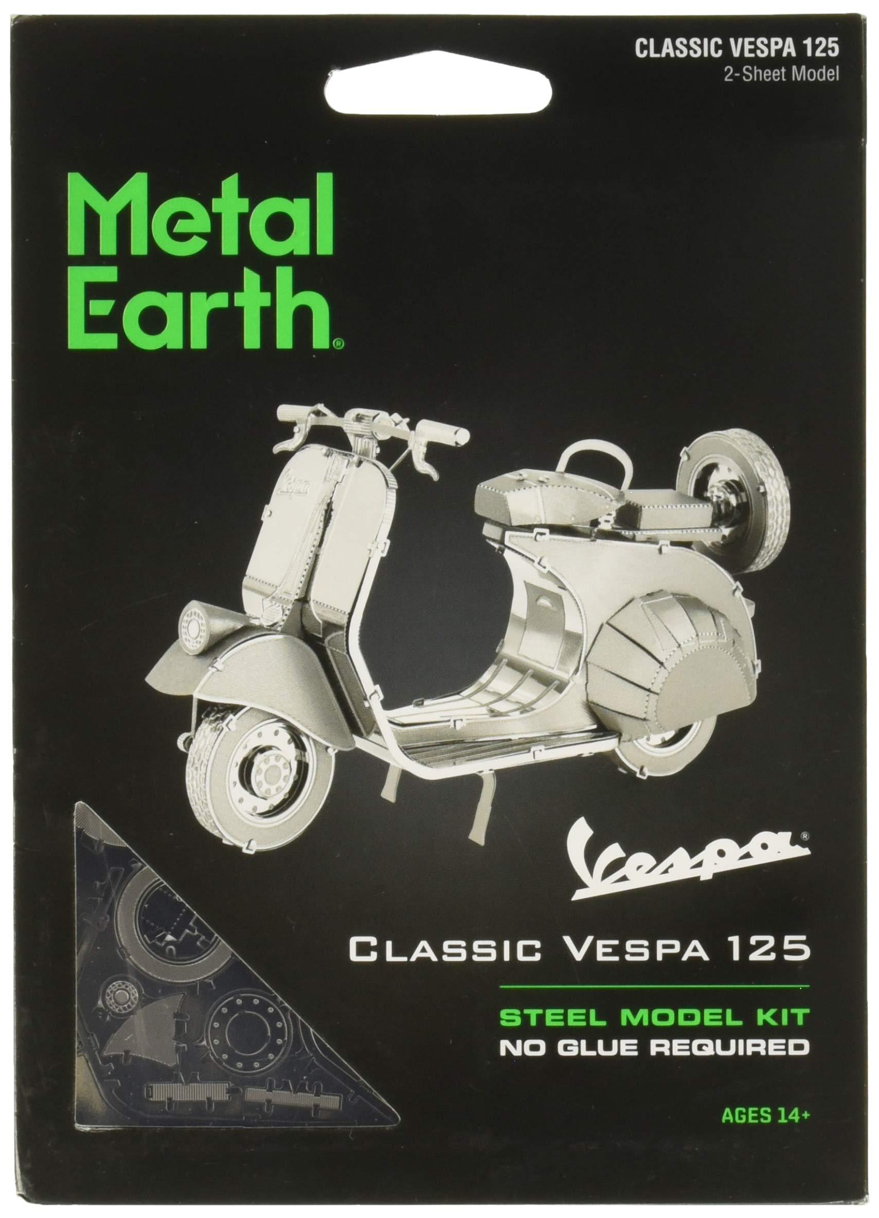 Fascinations Metal Earth Classic Vespa 125 3D Metal Model Kit
