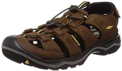 c50e63d7e4 Keen - Men's Rialto II Outdoor Sandals, Bison/Black, ...