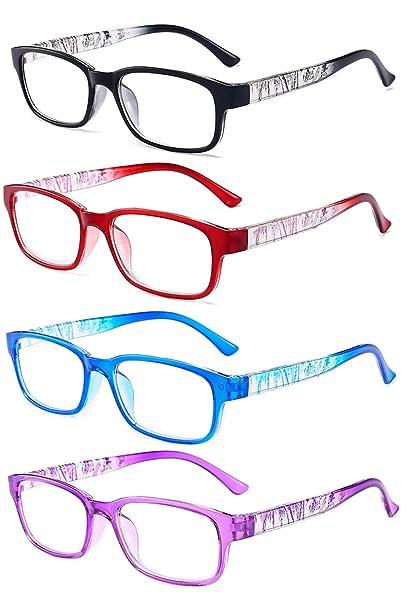 VEVESMUNDO Gafas de Lectura Retro Moda Grandes Colores ...