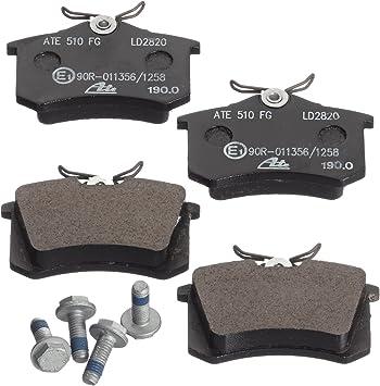 Bremsbelagsatz Scheibenbremse ATE Ceramic ATE 13.0470-2820.2