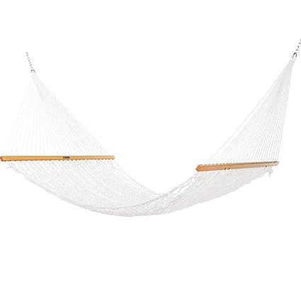 Amazon.com: Pawleys Island - Hamaca doble de cuerda: Jardín ...