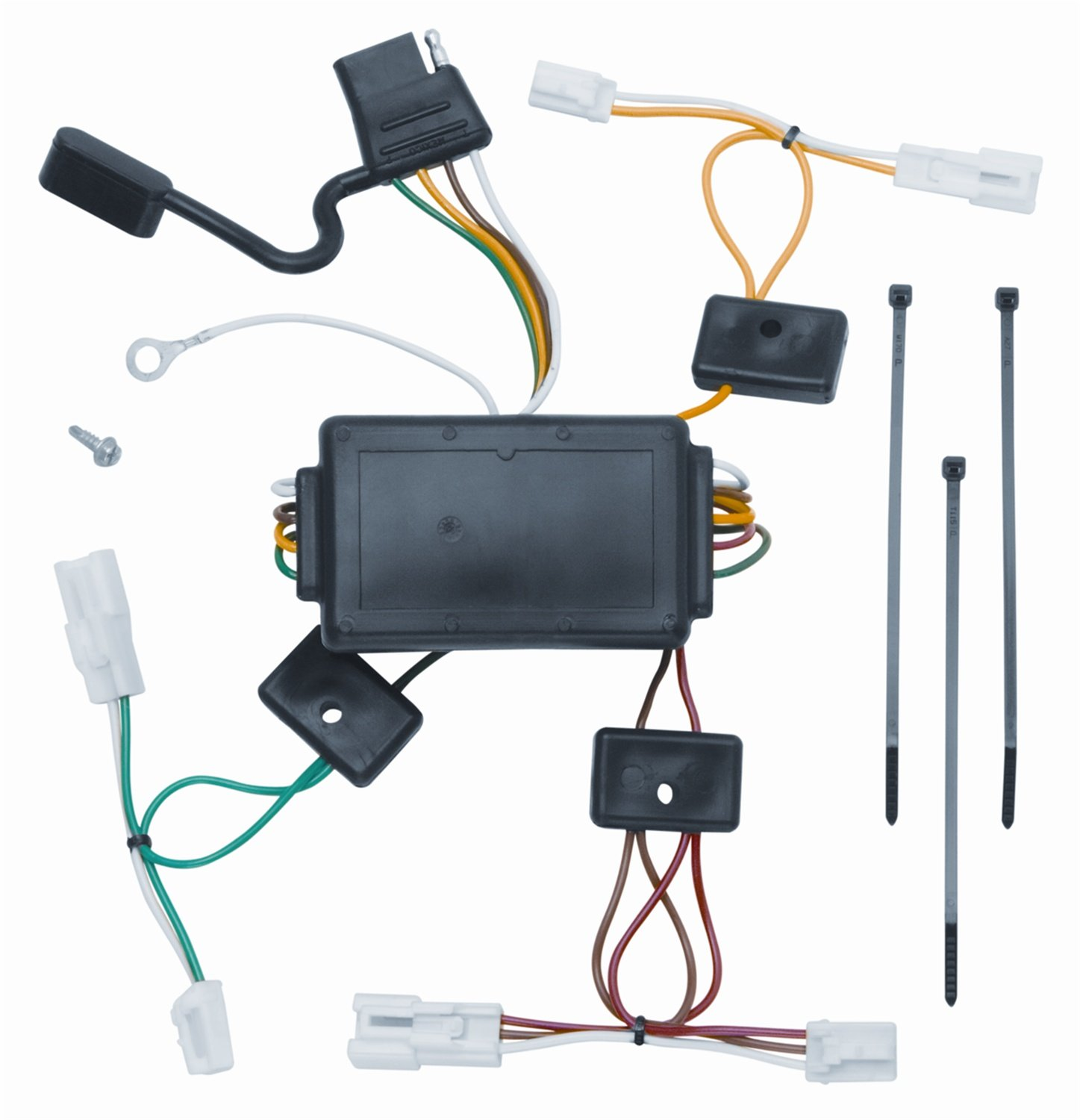Amazon.com: Vehicle To Trailer Wiring Harness Connector For 03-08 Pontiac  Vibe Plug Play: Automotive