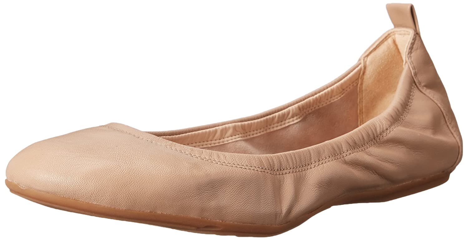 Maple Sugar Leather Cole Haan Womens Jenni II Ballet Flat Ballet Flat
