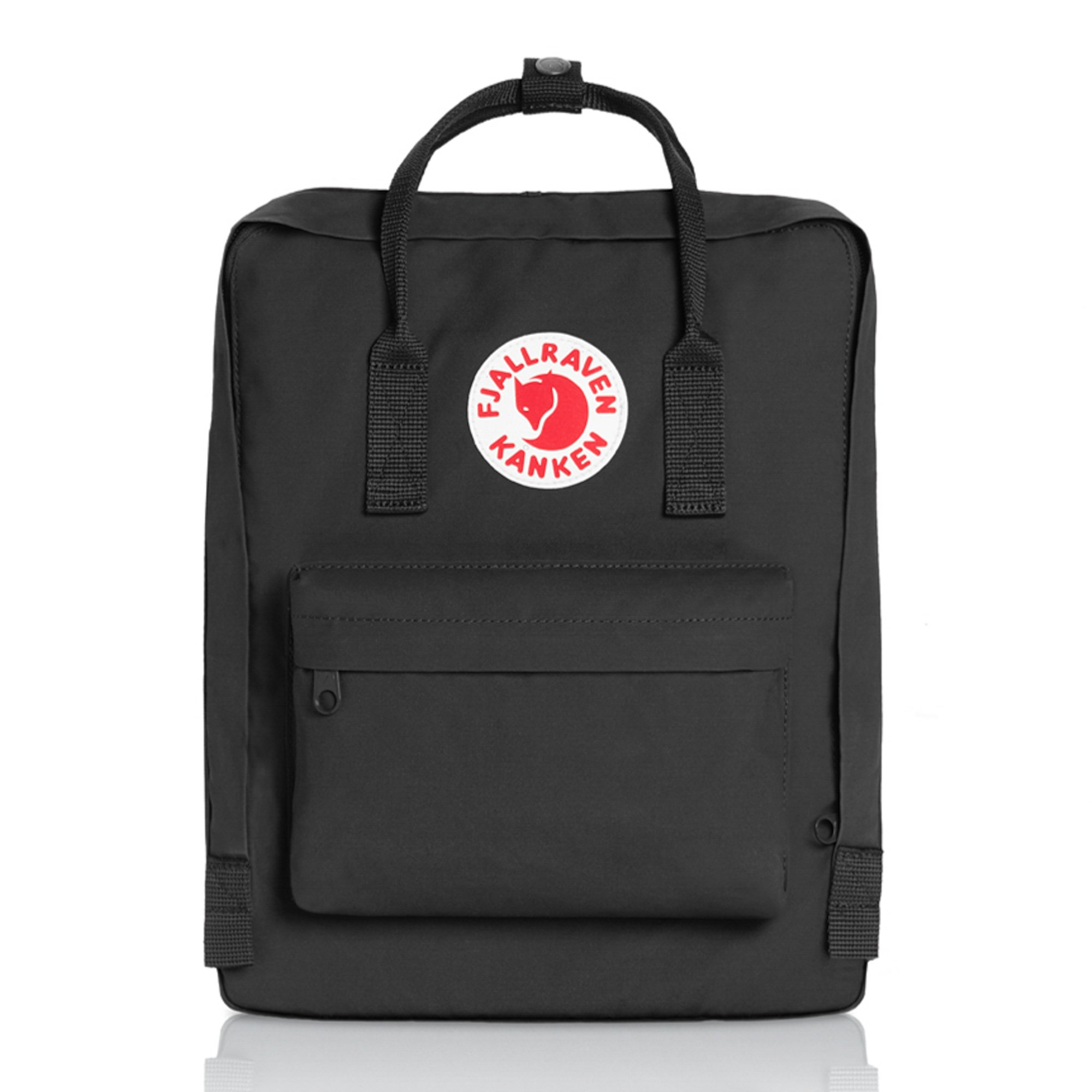 Fjallraven - Kanken Classic Pack, Heritage and Responsibility Since 1960, One Size,Black