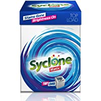 Syclone Matic Detergent Powder for Top Load Washing Machine, 2kg