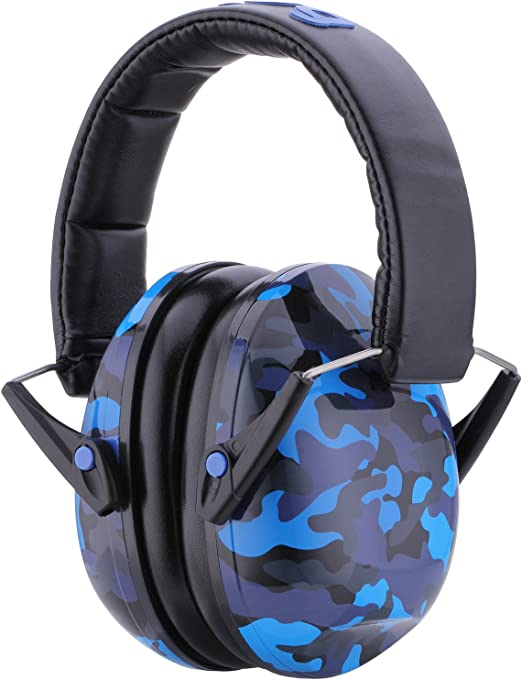 Kid Earmuffs//Hearing Protectors –Adjustable Headband Ear Defenders For Children