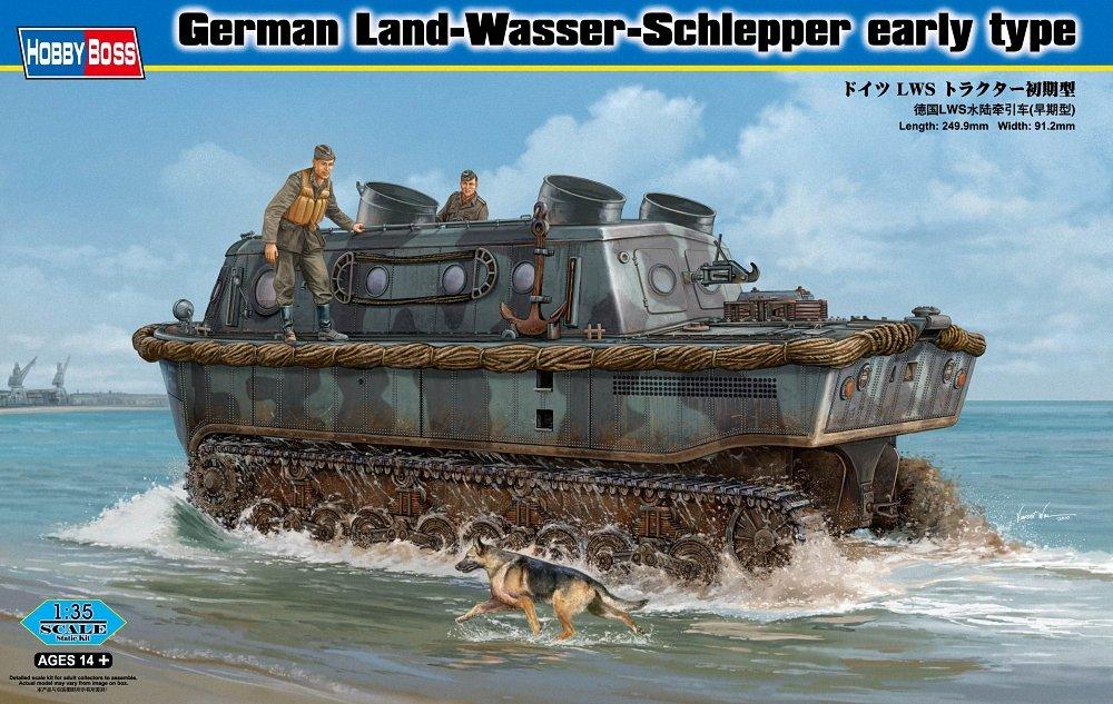 Hobby Hobby Hobby Boss 82465 Modellbausatz German Land-Wasser-Schlepper early type 62dadd