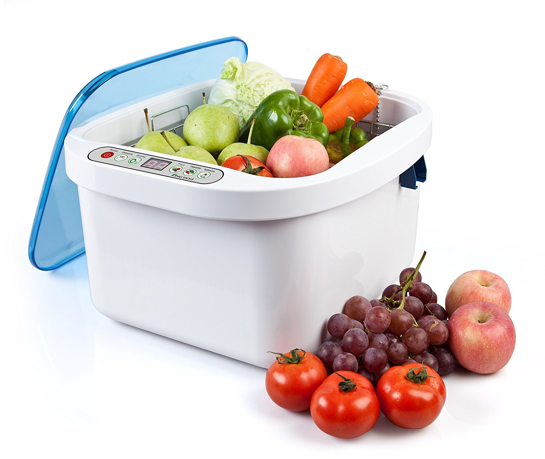 OUBO DENTAL Home Use Ultrasonic Ozone Vegetable Fruit Sterilizer Cleaner Washer 12.8L US STOCK
