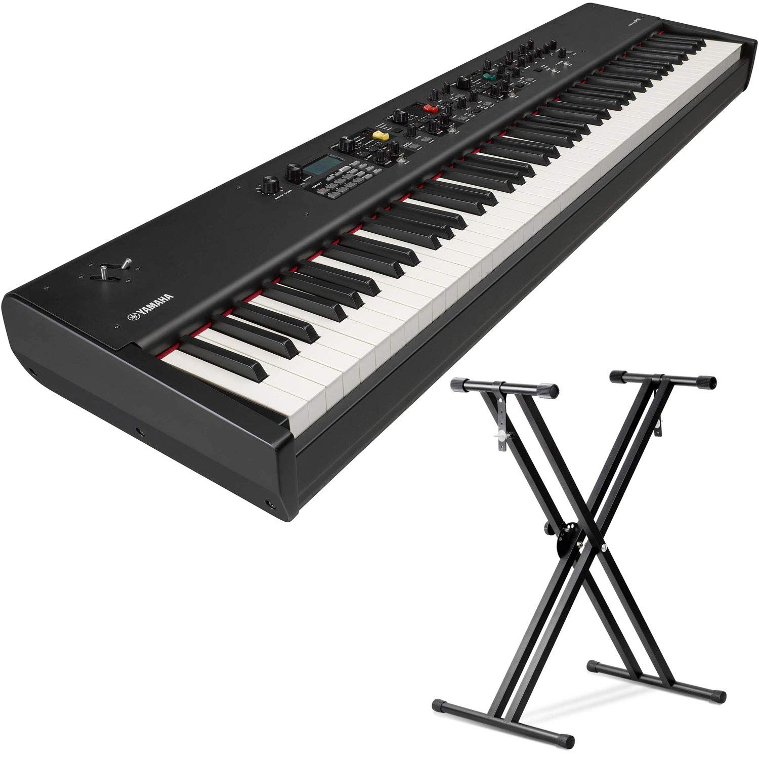 Yamaha CP88 88-Key Balanced Hammer Action Stage Piano with (Sustain Pedal and Keyboard Stand) by YamahaBundle