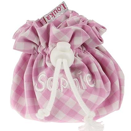 louka funda para chupete cuadros rosa bebé, niño y niña ...