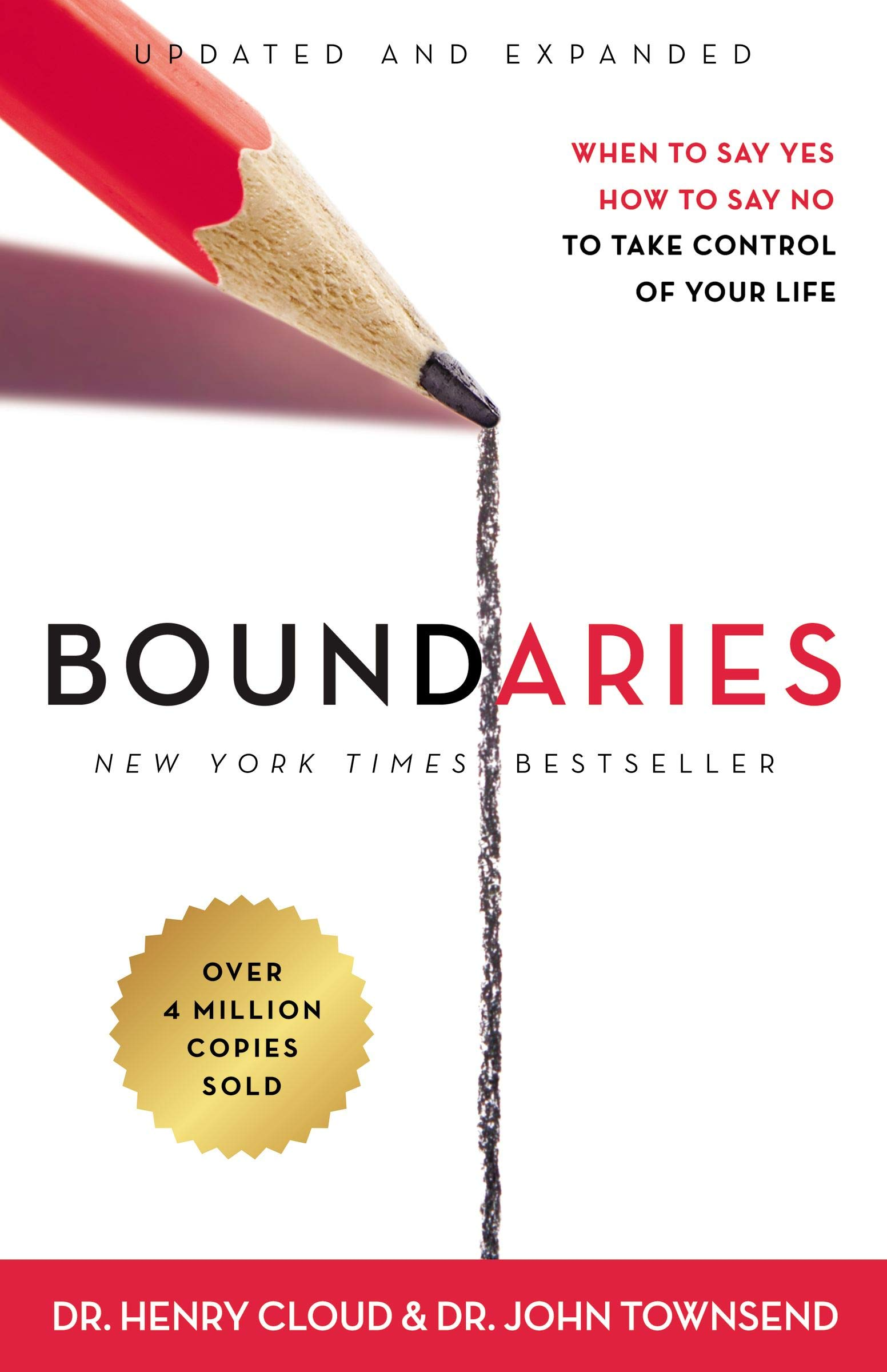 Image for Boundaries Updated and Expanded Edition: When to Say Yes, How to Say No To Take Control of Your Life