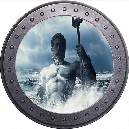 PANDABOOM Etiqueta De La Pared 3D Mar Poseidón Ojo De Buey ...