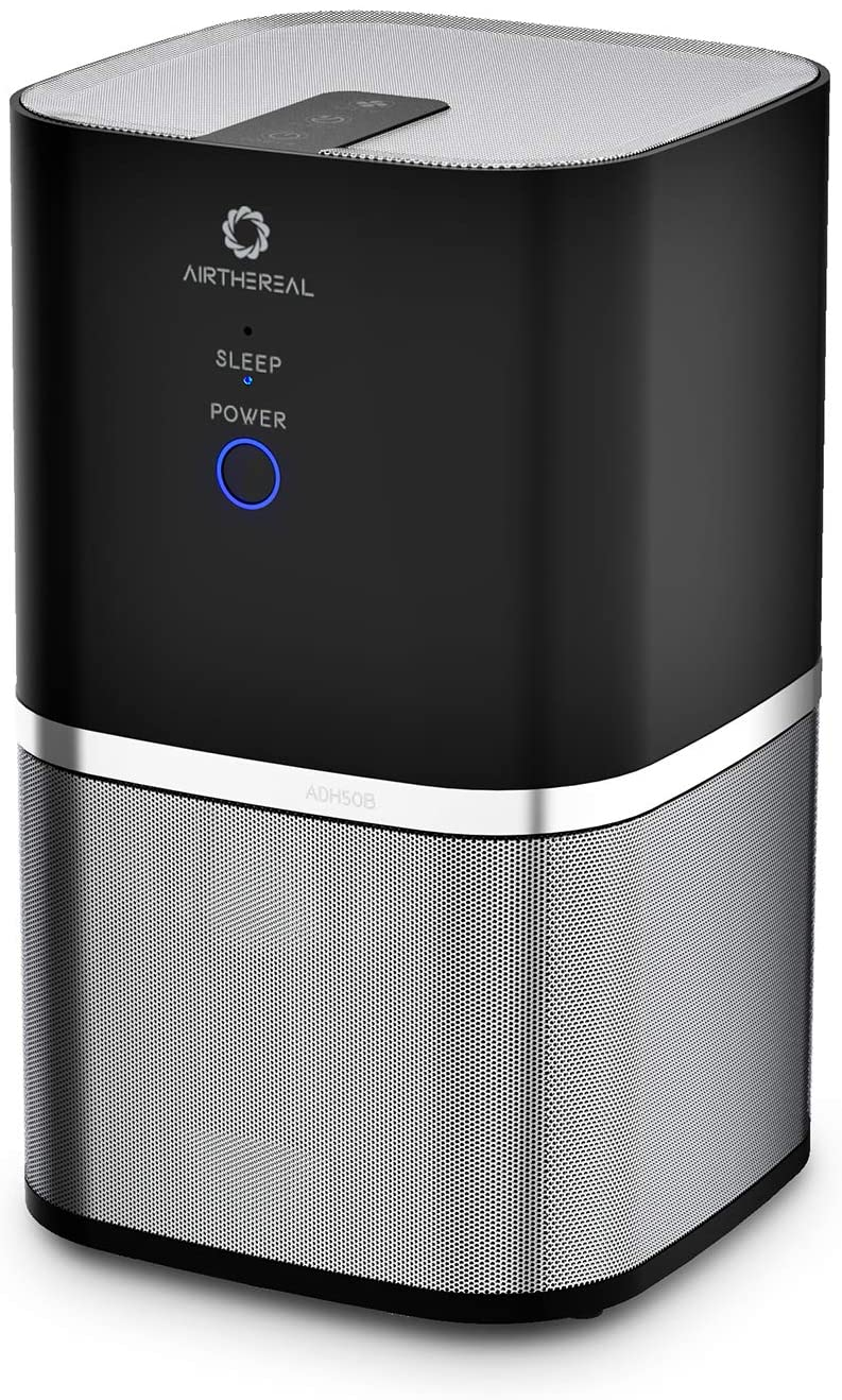 Airthereal Air Purifier for Home, Bedroom, and Office - Whisper Quiet, 7-in-1 True HEPA Filter, Portable - Removes Dust, Smoke, Odors, and More - Day Dawning ADH50B