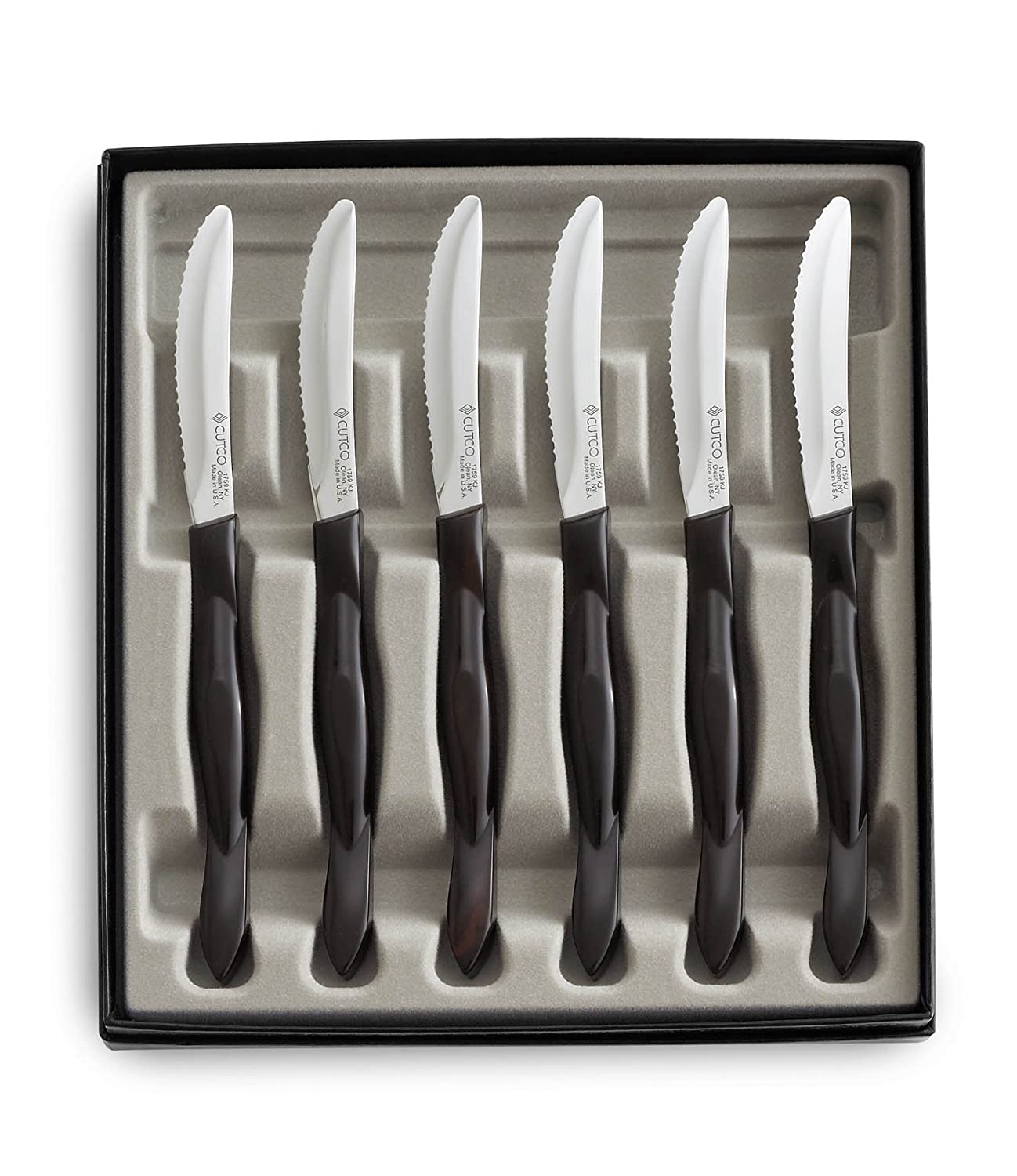 Cutco Table Knife Set Amp Cutco 1759 Jb Steak Table Knife