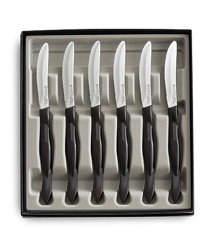 Cutco Kitchen Knives   Amazon Com Cutco 6 Piece Table Knife Set 1869 Kitchen Dining