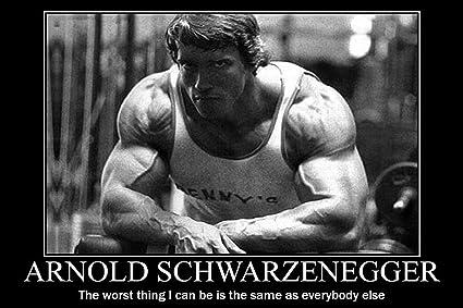 Amazon Com Arnold Schwarzenegger Bodybuilding Motivational