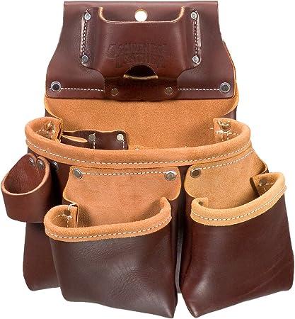 Occidental Leather 5018DBLH - Mochila para herramientas, 3 compartimentos, color negro