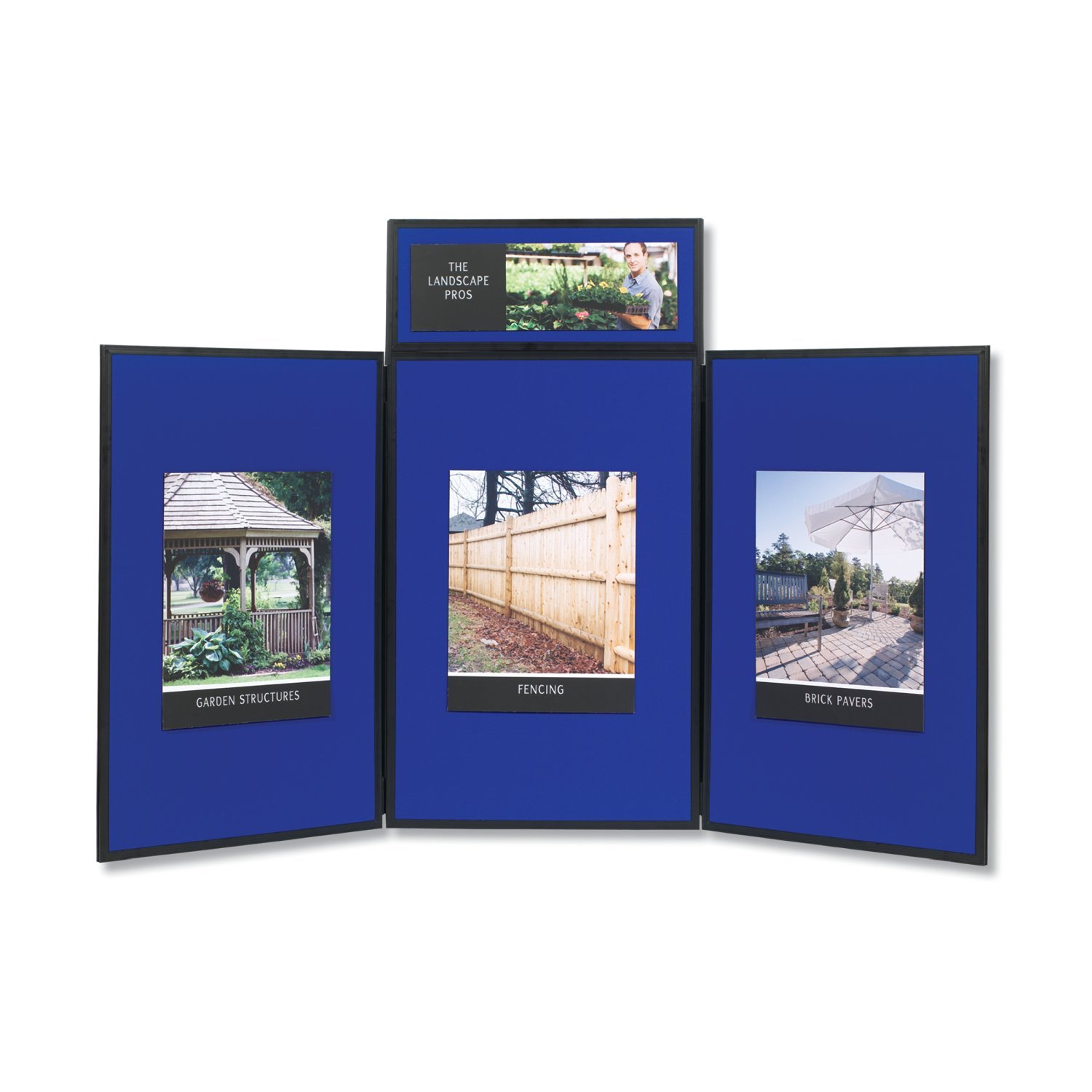 Amazon.com : Quartet Show It! 3 Panel Display System, 6 X 3 Feet,  Double Sided, Blue/Gray (SB93513Q) : Ordinary Display Boards : Office  Products Part 41