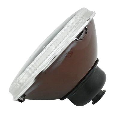 "00-9311-0 7"" H4 Headlight - Round, Each, Fit P/N: 9307-7 & 98-1064-B: Automotive"