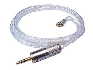 Canción de audio del Galaxy Shure Upgrade Cable de repuesto Plata Jack para ue900, se846