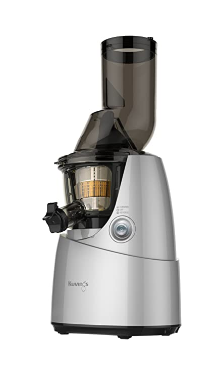 amazon com kuvings bpa free whole slow juicer silver b6000s with