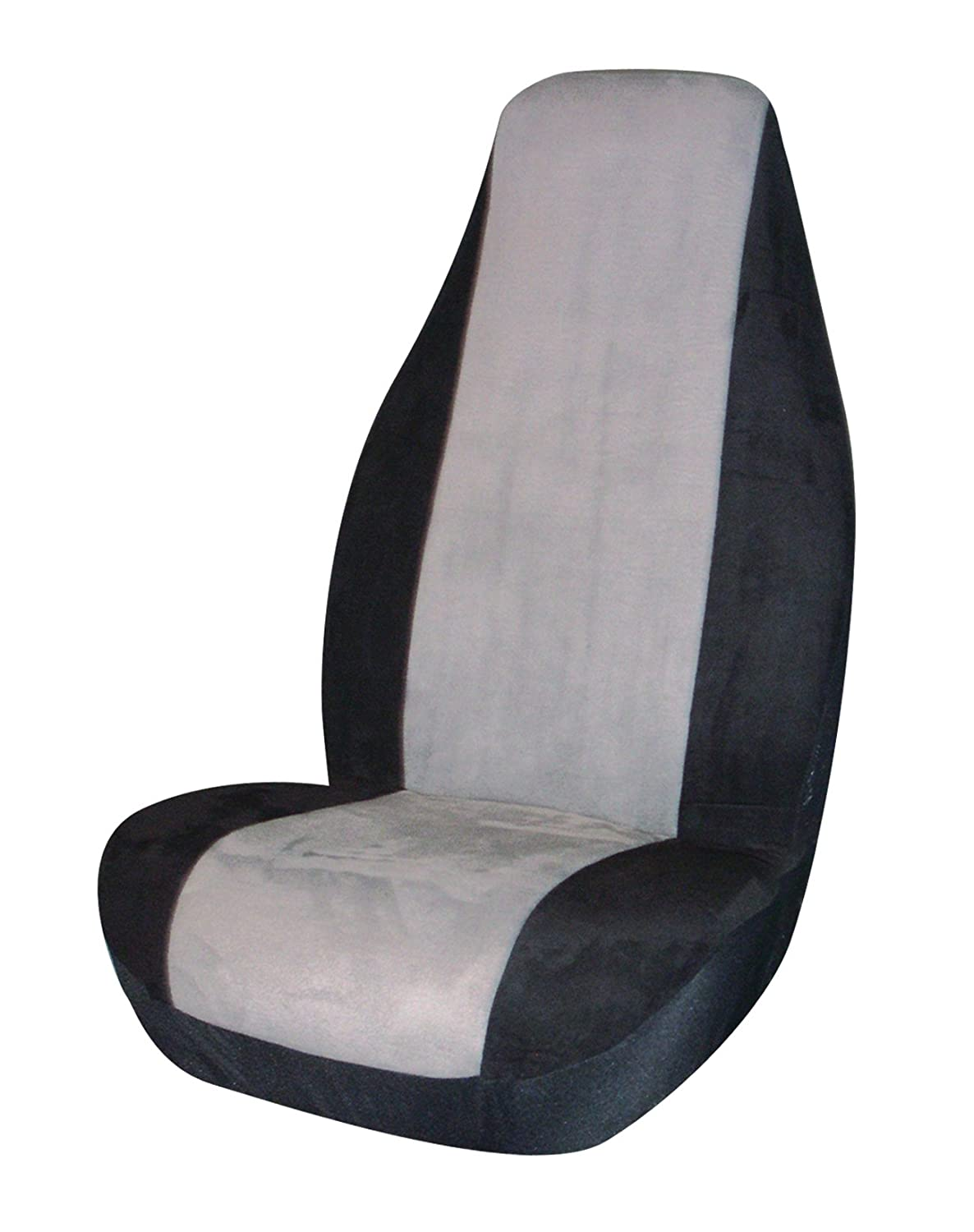 Allison 67-2800GRY Gray Memory Foam Universal Bucket Seat Cover Pack of 1