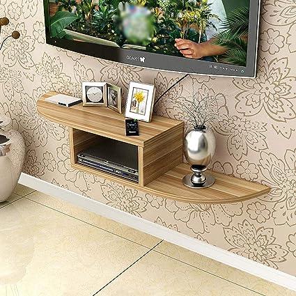 Amazoncom Wall Shelf Wall Shelf Wall Mounted Tv Rack Set Top Box