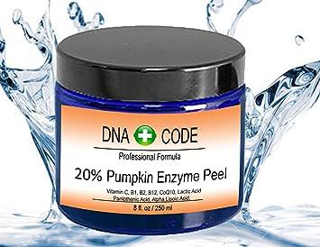 Amazon.com: ADN code-20% Pumpkin Enzyme Peel 2 oz-enhanced W ...